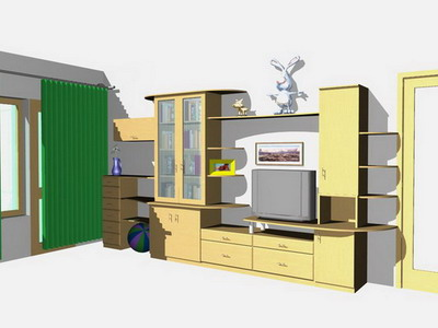 """3d проекты мебели от ателье мебели """"флаин"""". изготовление кор."""